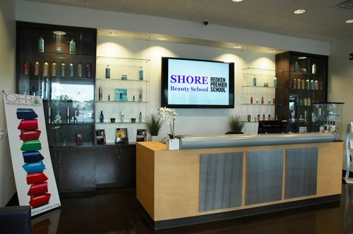 shore reception area
