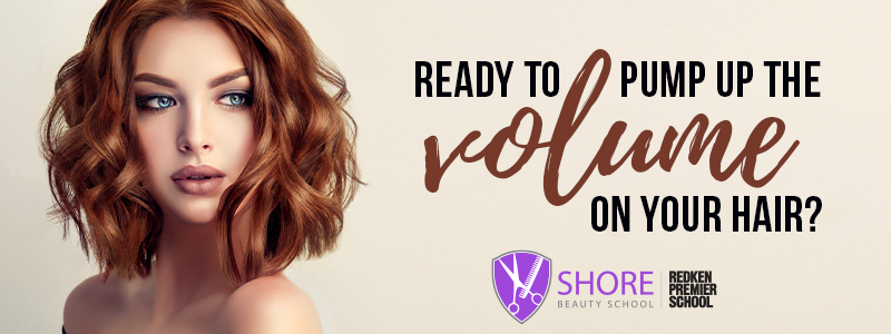 Pump up the volume on your hair