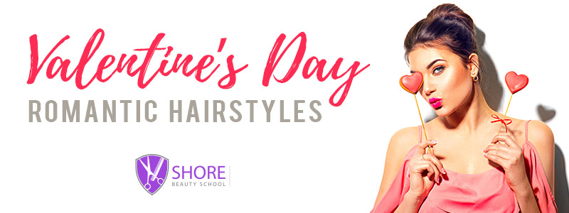 Valetines day romantic hair styles