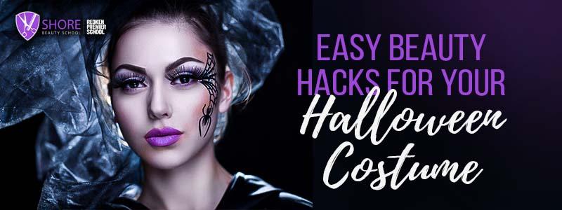 easy beauty hacks for your halloween costume